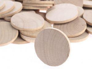 birthday board wood discs
