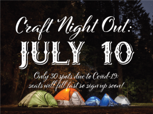 July Craft Night Out