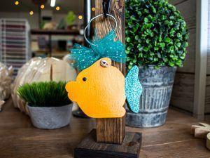 Mini Post Hanger Fish