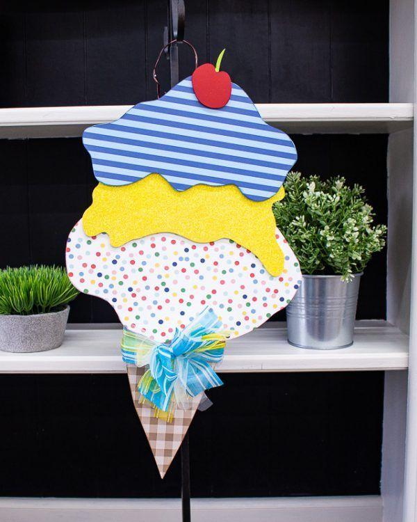 Ice Cream Cone Hanger