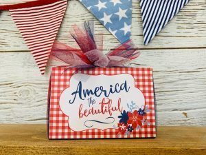 America the Beautiful Block