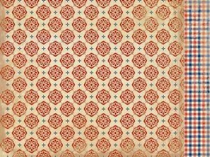 Authentique Paper - Liberty Collection - 12 x 12 Double-Sided Paper - Five