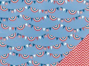 Independence Day Paper - Pebbles Pebbles Inc. - Americana