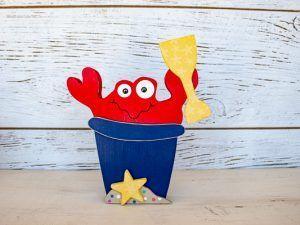 summer fiver beach bucket