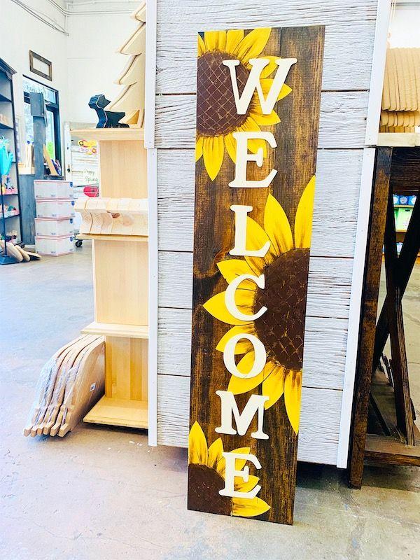 Sunflower Porch Board